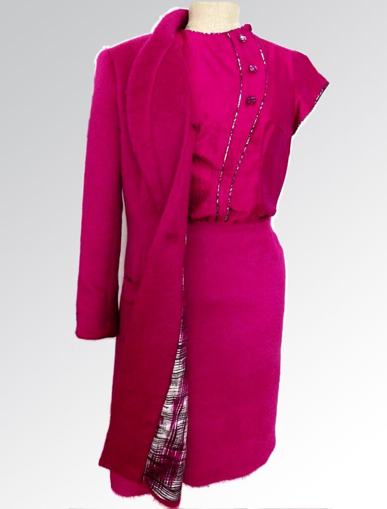 Auk Bakker Couture Ensemble Rose