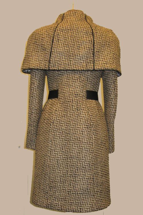 Mantel Auk Bakker Couture
